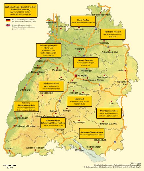 Region Heilbronn Franken Karte.Welcome Center Wir über Uns